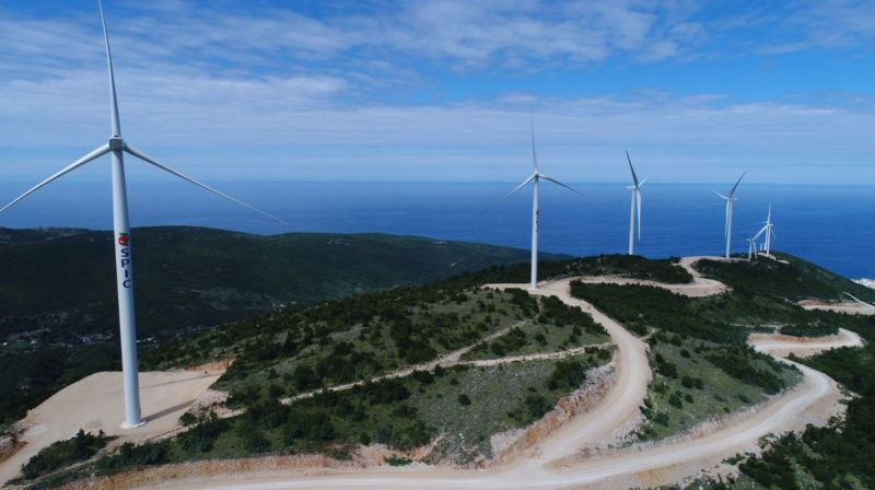Mozura windfarm project.