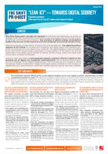 Executive Summary - Lean ICT