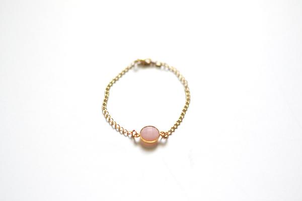 pretty pink bracelet