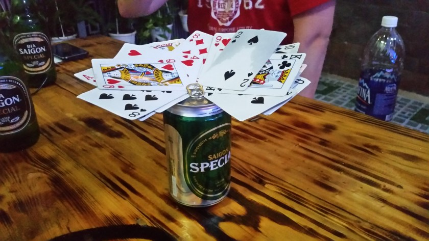 Playing Kings at Gecko Hostel