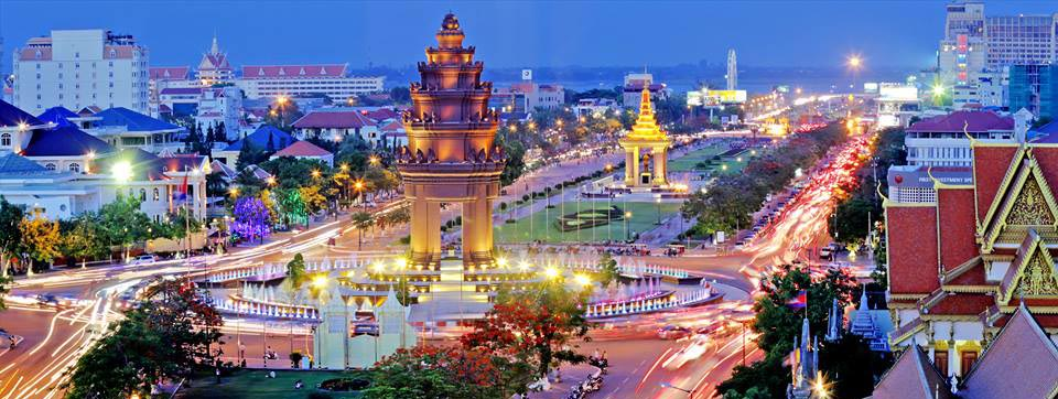 The Always Bustling Phnom Penh
