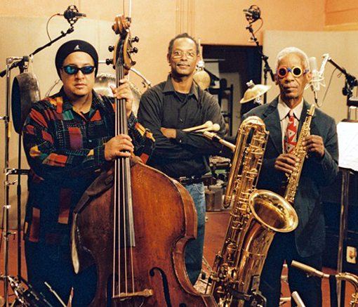 Roscoe Mitchell    Vincent Davis   Harrison Bankhead   Roscoe Mitchell Trio   No Side Effects   rogueart jazz