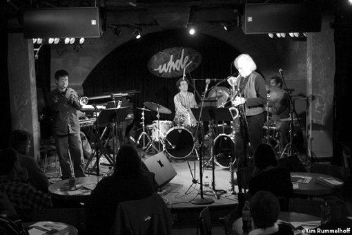 Larry Ochs Sax & Drumming Core   Stone Shift   rogueart jazz