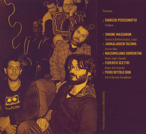 piero bittolo bon and his original pigneto stompers featuring jamaaladeen tacuma | mucho acustica | long song records