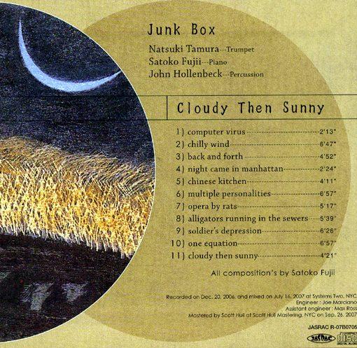 Junk Box | Cloudy Then Sunny | libra records