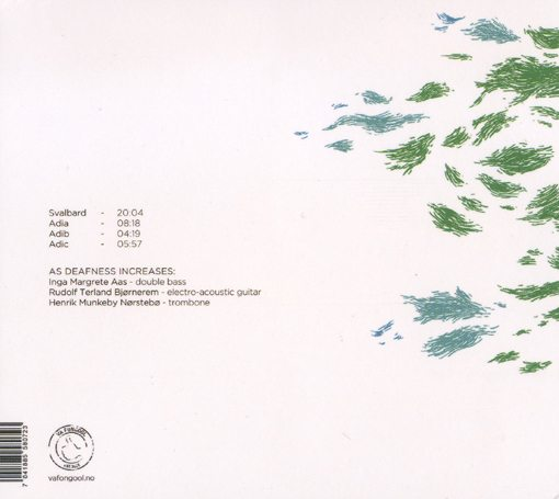 Inga Margrete Aas | Rudolf Terland Bjornerem | Henrik Munkeby Norstebo | As Deafness Increases | va fongool records