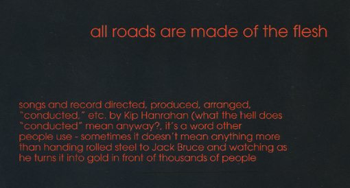 kip hanrahan | all roads are made of the flesh | american clavé