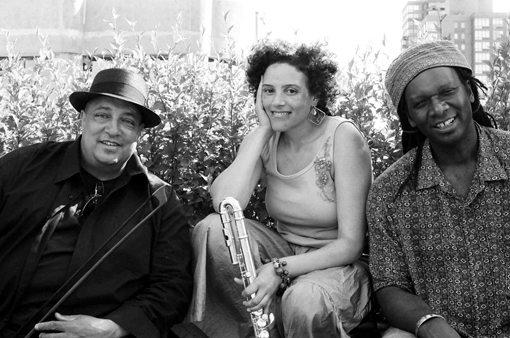 Hamid Drake |  Nicole Mitchell |  Harrison Bankhead | Indigo Trio | Anaya | rogueart jazz
