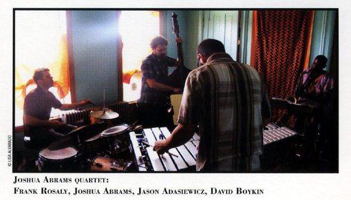 Joshua Abrams Quartet   Unknown Known   rogueart jazz
