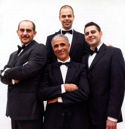 rocco parisi's bass clarinet quartet | a tempo, a modo - path tracking vito marsico | amirani records 034