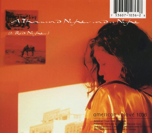 kip hanrahan   a thousand night and a night - (1- red nights   american clavé