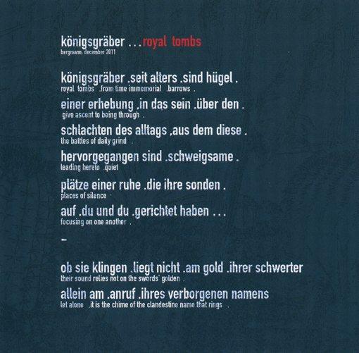 hubert bergmann | elmar guantes | ronin | mudoks record