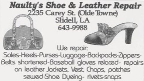Naulty's Shoe & Leather Repair