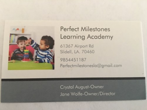 Perfect Milestones Learning Academy