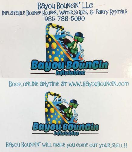 Bayou Bouncin