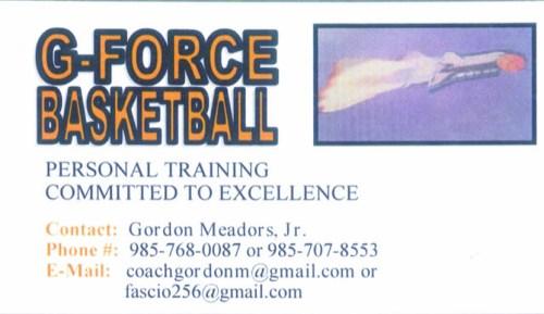 G-Force Basketball