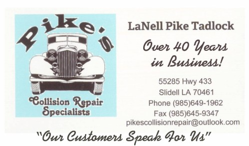 Pike's Collision Repair Specialists