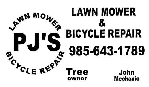 PJ's Lawn Mower and Bicycle Repair
