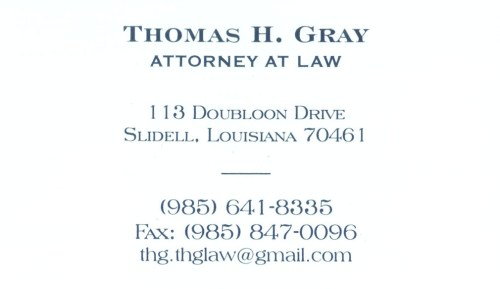 Thomas H. Gray