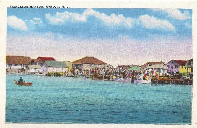 postcardprincetonharbor