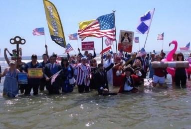 ocean city business perosn plunge