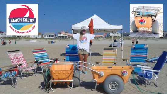 With Beach Caddy, Beach Time is Family Time