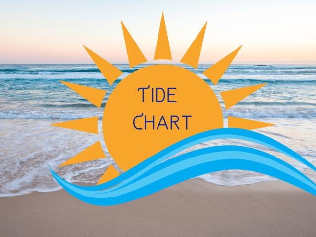 Tide Chart for Ocean City NJ