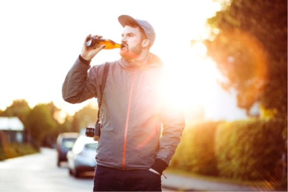 Does alcohol lead to harder drug use?