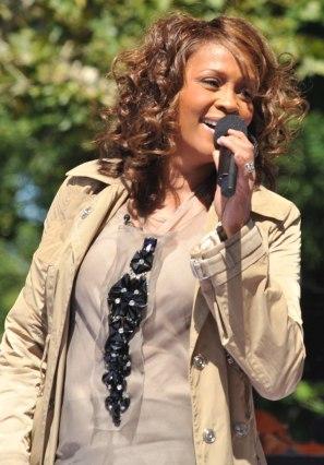 Whitney Houston struggled with drug addiction her adult life.