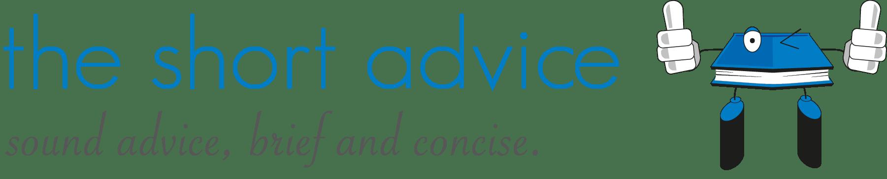 The Short Advice Logo