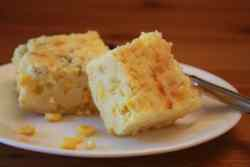 Green Chile Sweet Corn Casserole