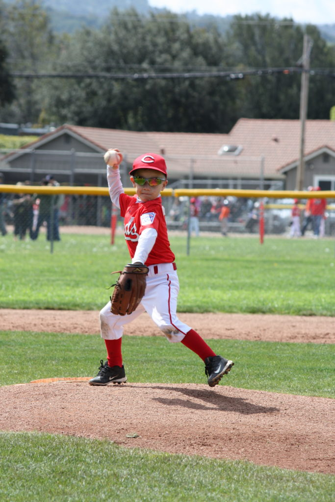 Landon pitching