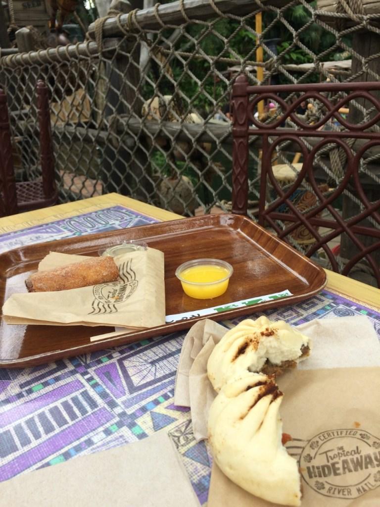disneyland tropical hideaway snacks The Short Order Cook