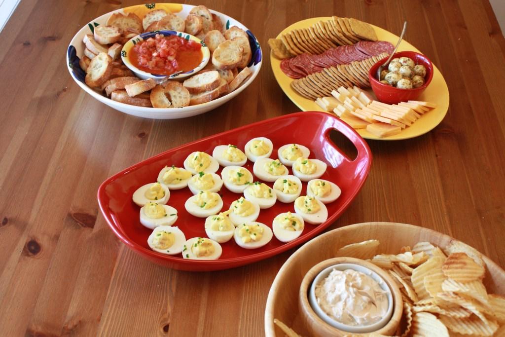 Easy Tomato Basil Bruschetta party eats