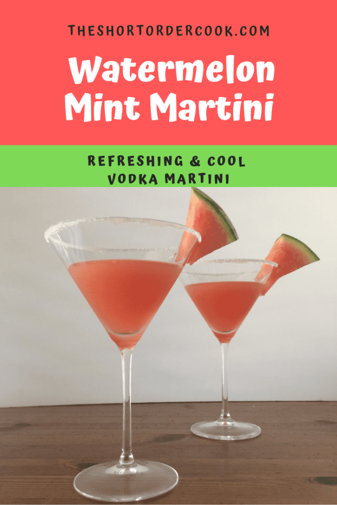 watermelon mint martini PIN