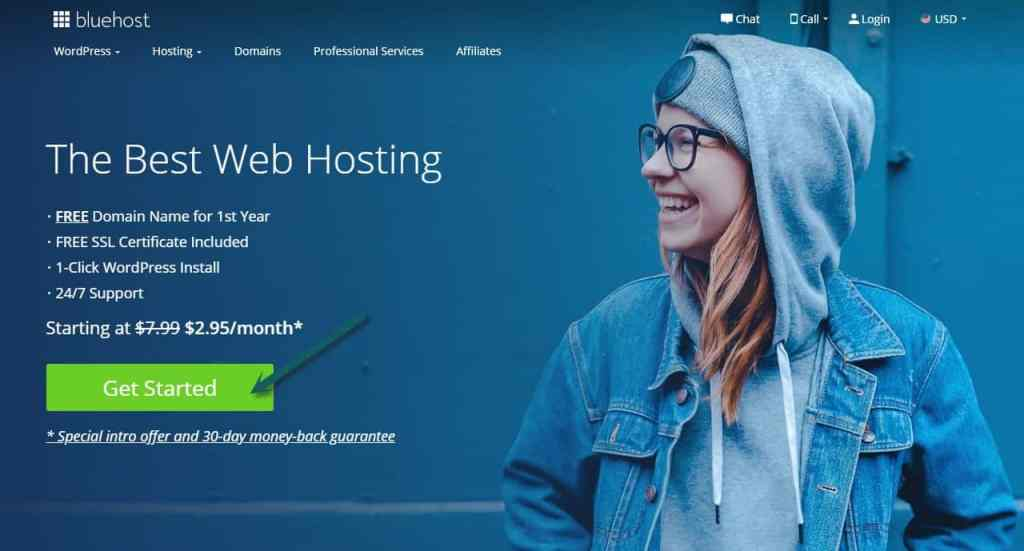 How to Start a Blog using Bluehost