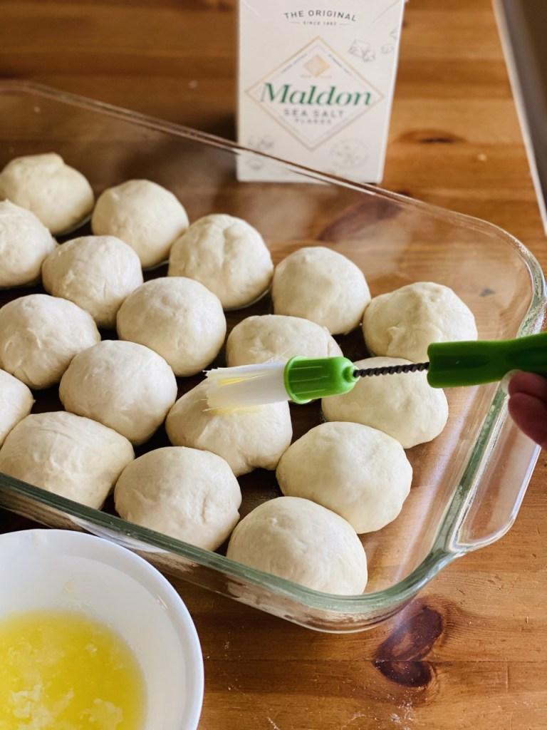 homemade soft rolls