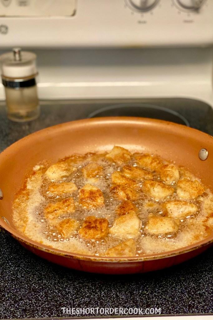 Grain Free Fried Chicken Nuggets golden brown