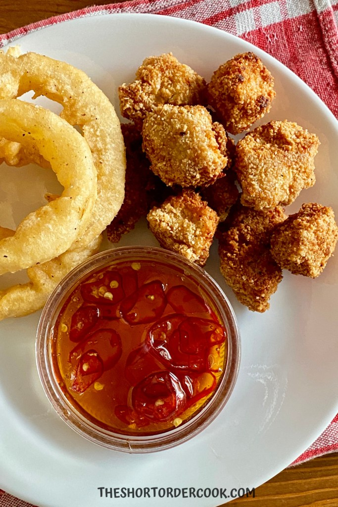 Grain Free Fried Chicken Nuggets with Hot Honey
