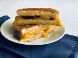 Grilled Cheese with Figs and Hot Honey feature