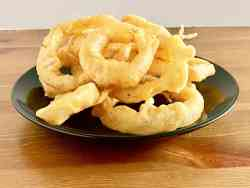 Homemade Beer-Battered Onion Rings