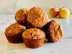Easy Applesauce Muffins featured