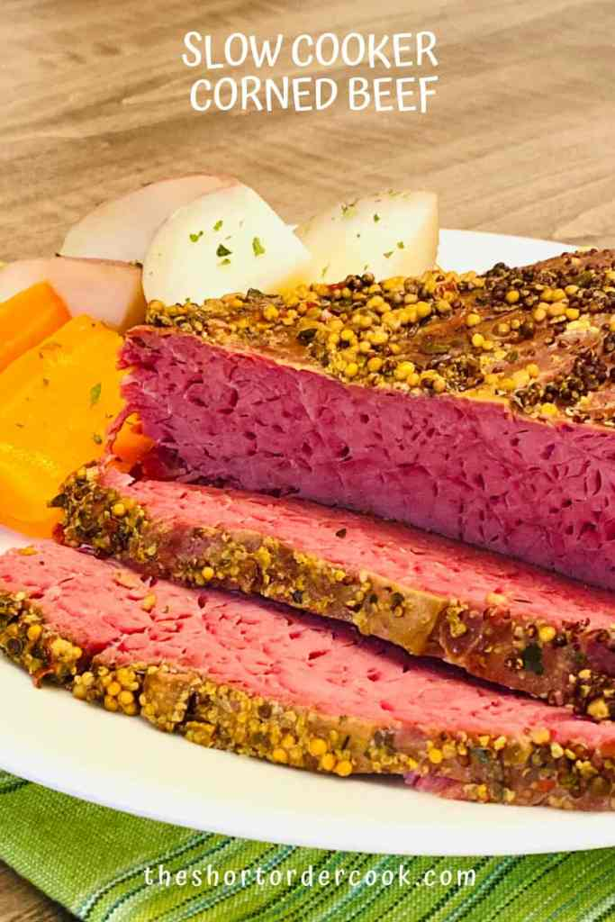 Slow Cooker Corned Beef ready to eat