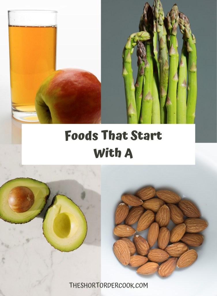 FoodsThatStartWithA PIN