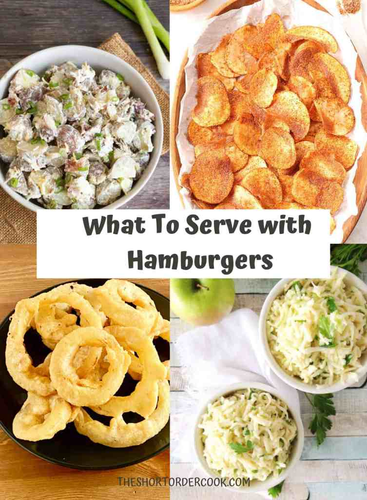 What to Serve with Hamburgers PIN