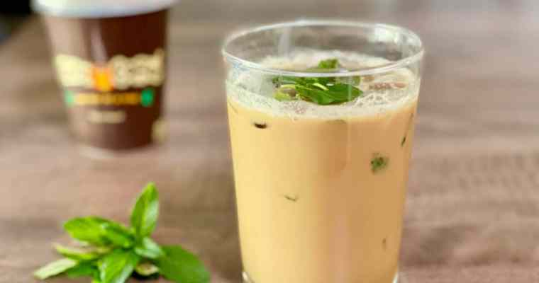 Mint Mojito Iced Coffee (Philz copycat)