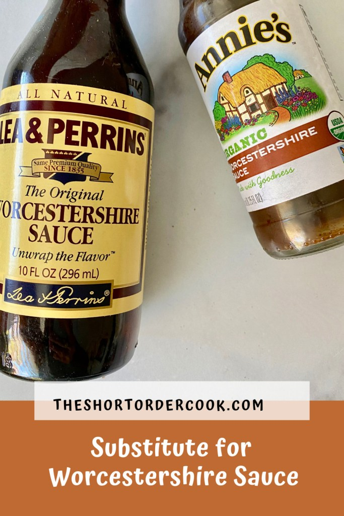 Substitute for Worcestershire Sauce PIN