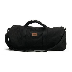 Cult Leather Patch Duffel bag – Black