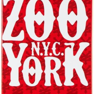 Zoo York Skateboard Deck – Red Label – 8″