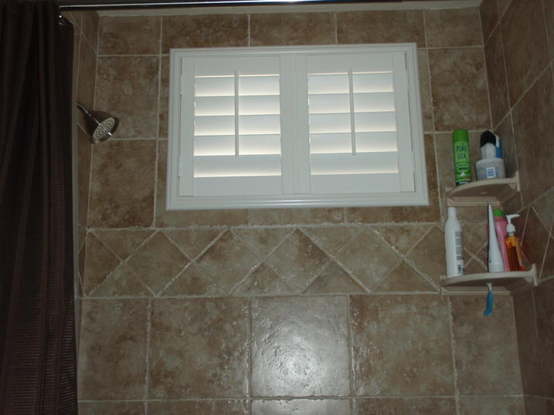 Bathroom Kitchen Shutters Gallery  The Shutter Source